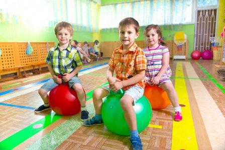 Динамическая гимнастика для малышей